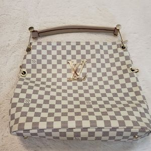 LV demier azur monogram shoulder hang bag
